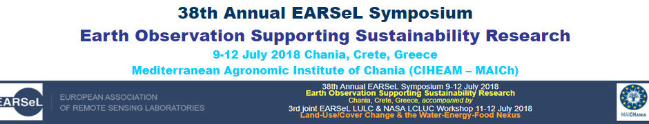 EARSel Symposium 2018